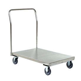 Jamco Stainless Steel Deck Platform Truck XP136 36 x 18 1200 Lb. Capacity