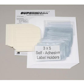 "Magnetic Label Holder 6""W X 4""H (50 pcs/pkg)"
