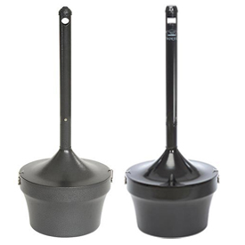 Outdoor Steel Cigarette Urns