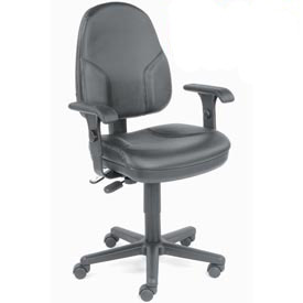 Interion® Synchro Leather Chair