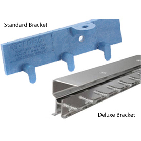 Strip Curtain & Strip Door Mounting Brackets