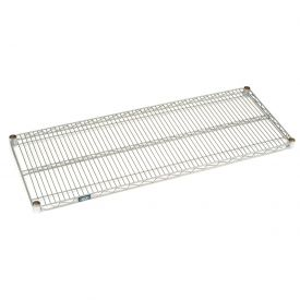 Nexel® Chrome Wire & Solid Galvanized Shelves