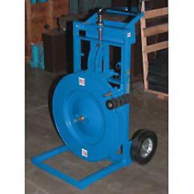 Vertical And Horizontal Steel Strapping Cart