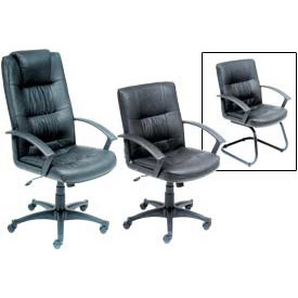 Interion™ - Coordinated Executive Leather Chairs