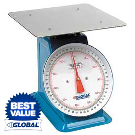 Heavy Duty Dial Scale 110 Lb x 4 Oz