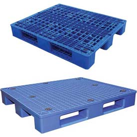 Blue Plastic Rackable Pallets