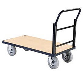 Steel Bound Plywood Deck Platform Trucks