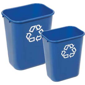 Rubbermaid® Deskside Paper Recycling Wastebaskets