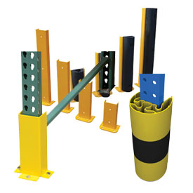 Pallet Rack - Steel Rack Guards