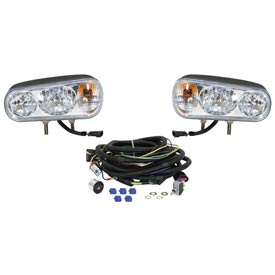 Universal Halogen Snowplow Light Kit