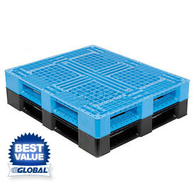 Double Faced Stackable Food-Grade Plastic Pallets