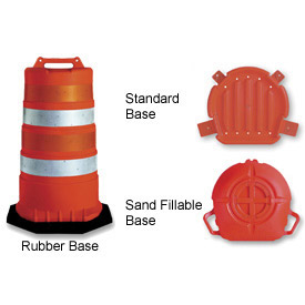 Plastic Safety Drums
