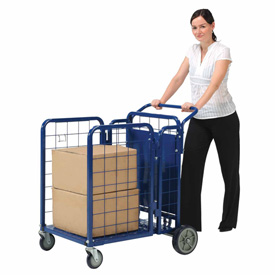 Fold-A-Way Steel Stock & Utility Cart