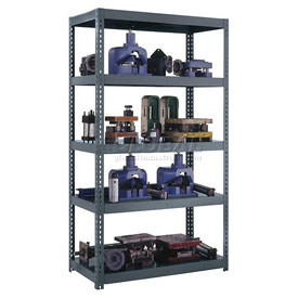 Boltless Heavy Duty Metal Shelving with Steel Deck (4,000 lb max shelf cap)