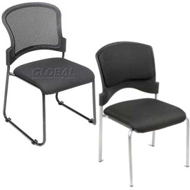 Interion™ - Upholstered Stackable Chairs