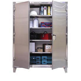Strong Hold® Heavy Duty Stainless Steel 12 Gauge Cabinets