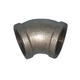 BMI Canada MGL4503 45 Elbow 150# Galvanized Malleable - 3/8''