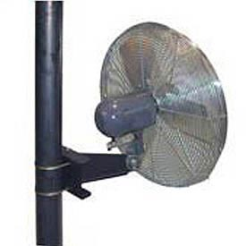 TPI Washdown Pole Mount Industrial Fans