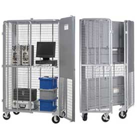 Folding Security Storage Trucks