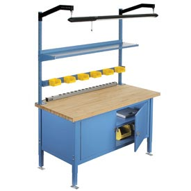 Heavy Duty Security Cabinet Benches