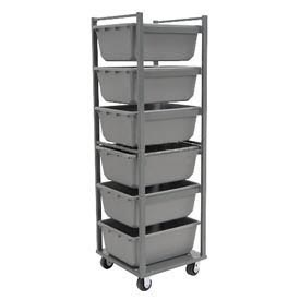 Akro-Mils Nesting Six Tub Cart