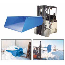 Fork Lift Snow Loading Scoop & Dump Hopper