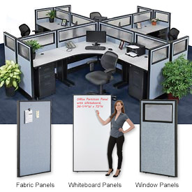 Interion™ Standard Office Cubicle Partitions