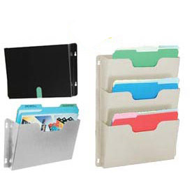 Buddy Products -  Steel Wall File Pockets