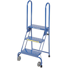 Lock-N-Stock Folding Rolling Ladders