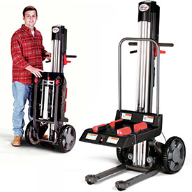 Magliner® LiftPlus™ Folding Battery Powered Lift Trucks