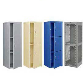 14 Gauge Heavy Duty Extra Wide Welded Steel Lockers - 24