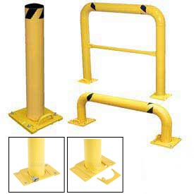 Removable Steel Safety Guards And Bollards