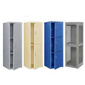Heavy Duty Extra Wide Welded Steel Lockers - 24