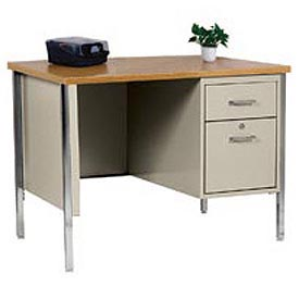 MBI - Single Pedestal Steel Desks
