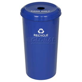 Round Steel Recycling Container