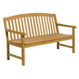 Wood Benches with Back & Arms