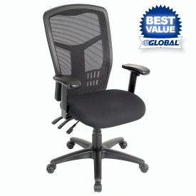 Interion® - Multifunction Premium Mesh Back Office Chair