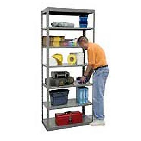 Hallowell Pass-Thru Heavy Duty Steel Shelving - 20 Gauge - 87