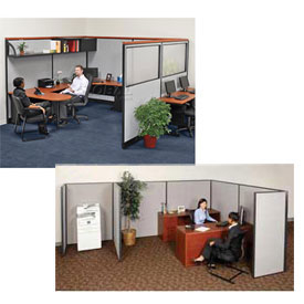 Interion™ - Pre-Configured Office Cubicle Partitions