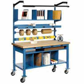 Heavy Duty Mobile Packaging Work Bench