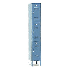 Penco 6321V-1-028SU Vanguard Locker Pull Handle  Triple Tier Locker 12x15x24 Assembled 1 Wide Gray