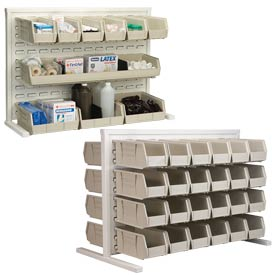 Akro-Mils Readyspace™ Bench Racks With Akrobins®