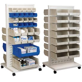 Akro-Mils Readyspace™ Mobile Floor Racks With Akrobins®