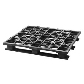 Automotive Rackable Plastic Pallet 48x45 Static Capacity 7500 Lbs