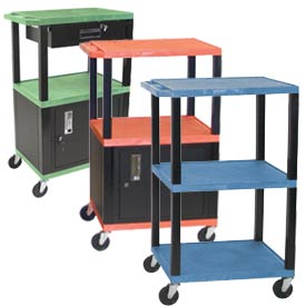 H. Wilson Tuffy Garage & Shop Utility Carts