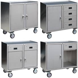 Jamco Stainless Steel Mobile Cabinets