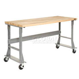 Mobile Fixed Height Workbench