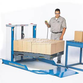 Bishamon® EZ Off Lifter® Electro-Hydraulic Pallet Carousel Positioners