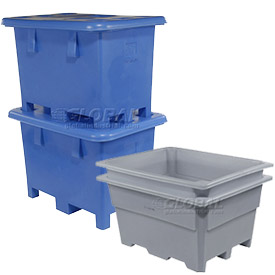 Stackable Bulk Containers - 4 Way Fork Entry