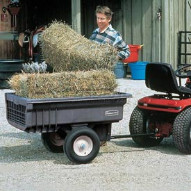 Rubbermaid® Lawn Tractor Cart Trailers